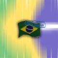 Pin em metal Bandeira do Brasil